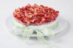Mostachón de fresa